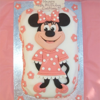 Picture of Minnie Mouse Cake