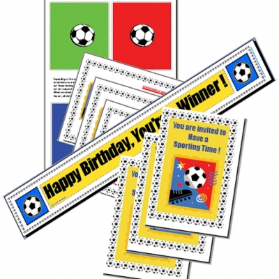 Picture of Sports Party Printable Games & Ideas Kit