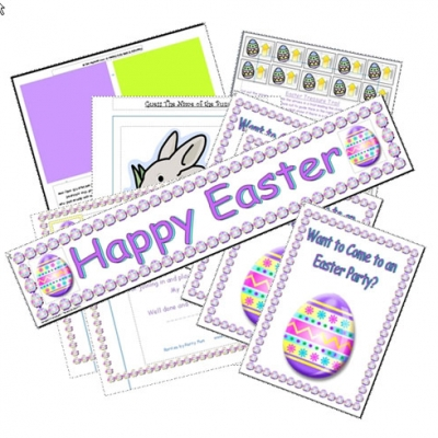 Picture of Easter Printable Games & Ideas Kit